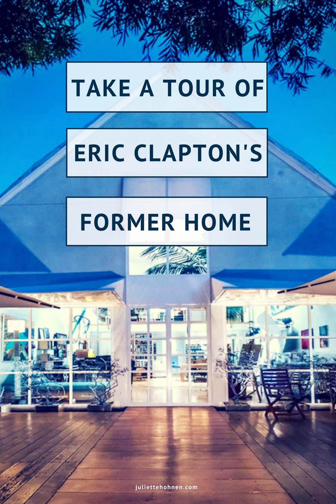 A Tour of Eric Clapton's Former Home