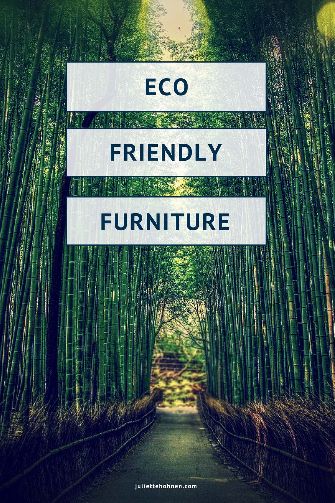 Eco Friendly Furniture for Your Home