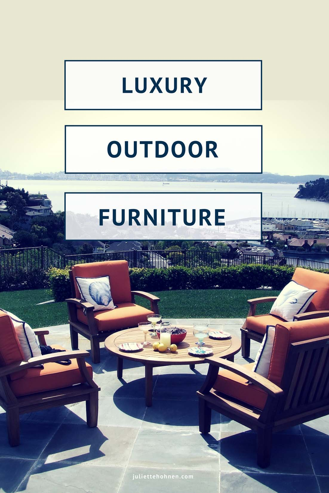 Our Favorite Luxury Outdoor Furniture