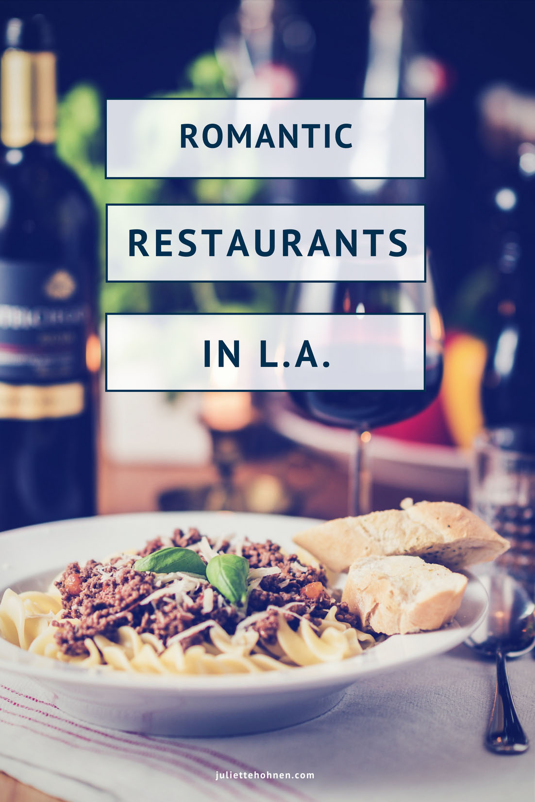 The Most Romantic Restaurants in Los Angeles