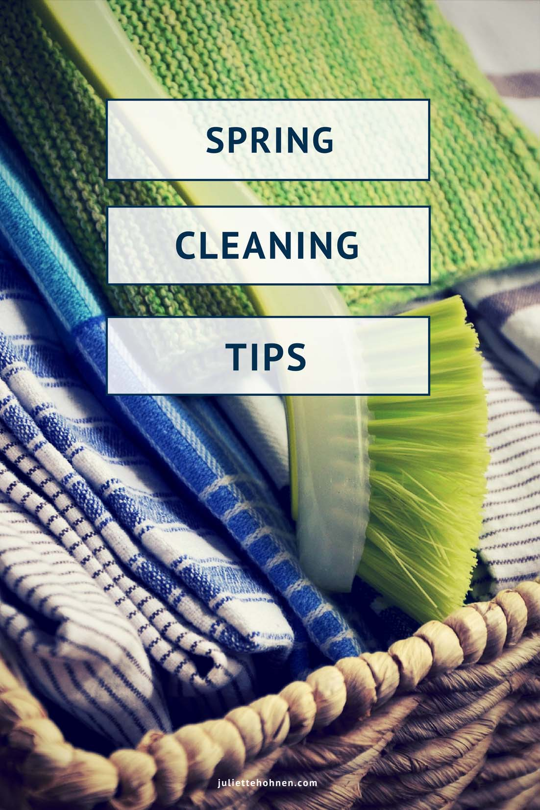 Spring Cleaning Tips – 10 Things to Tackle This Year