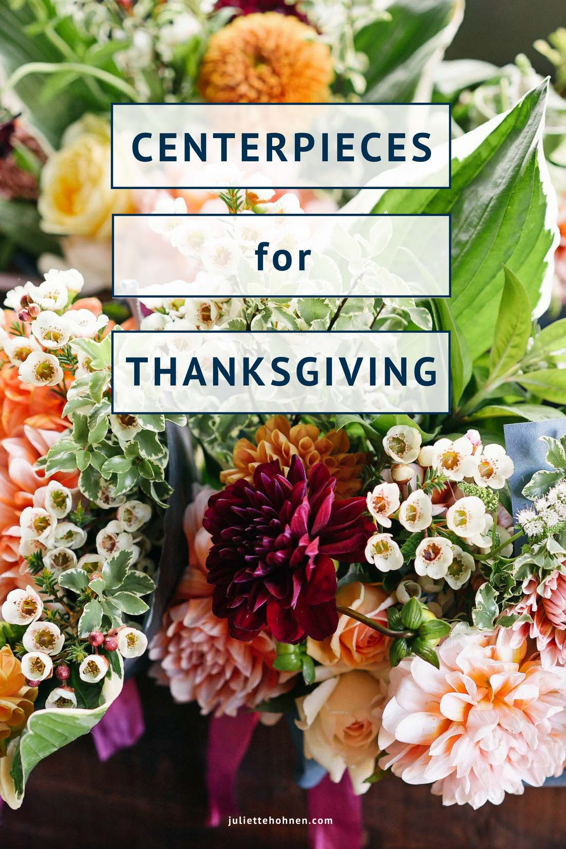 Stunning Centerpieces for Thanksgiving