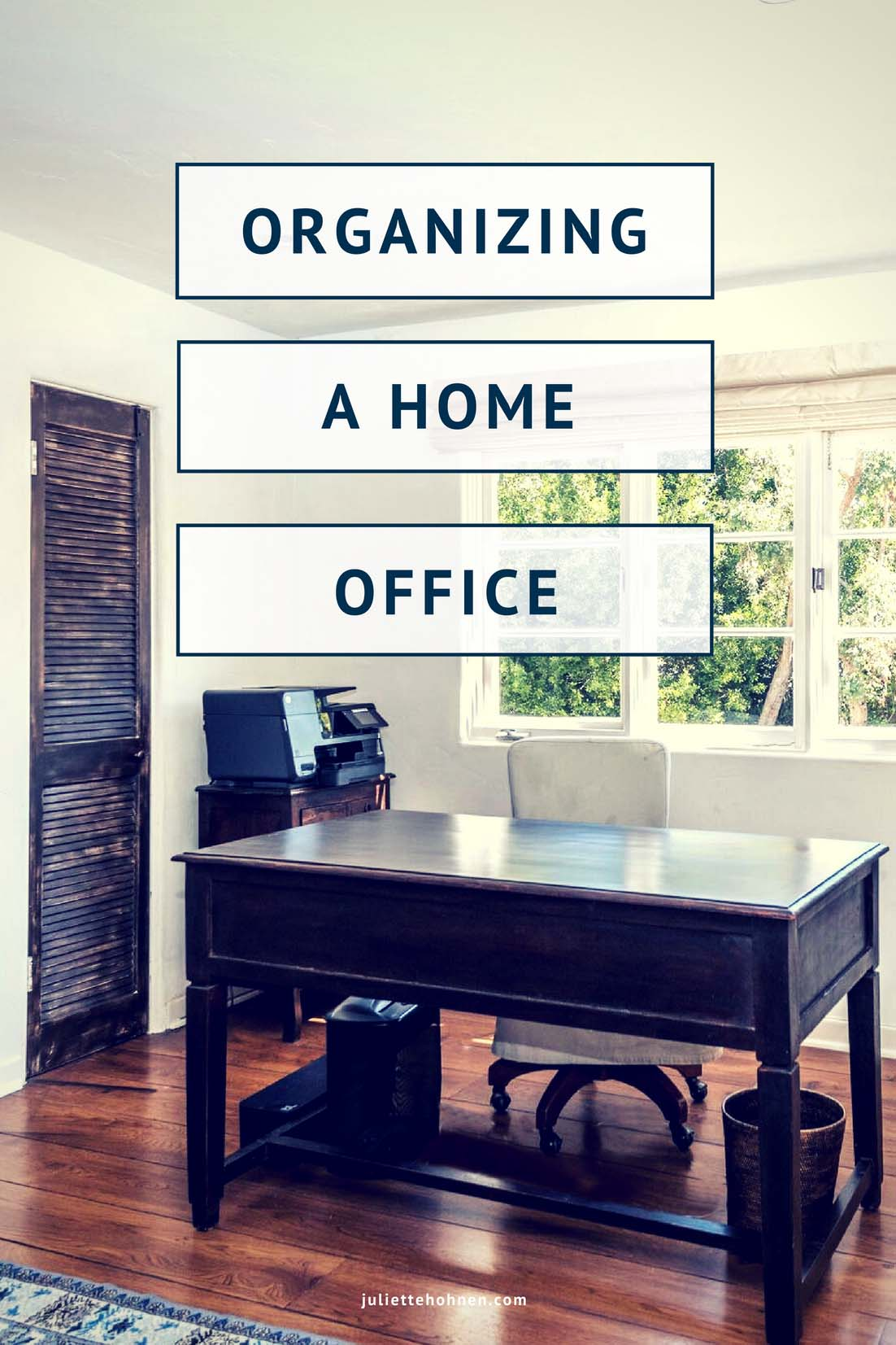 The Best Home Offices for Organizing