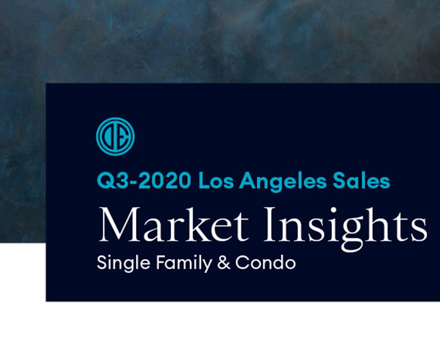 Los Angeles Real Estate Market Report Quarter 3 2020