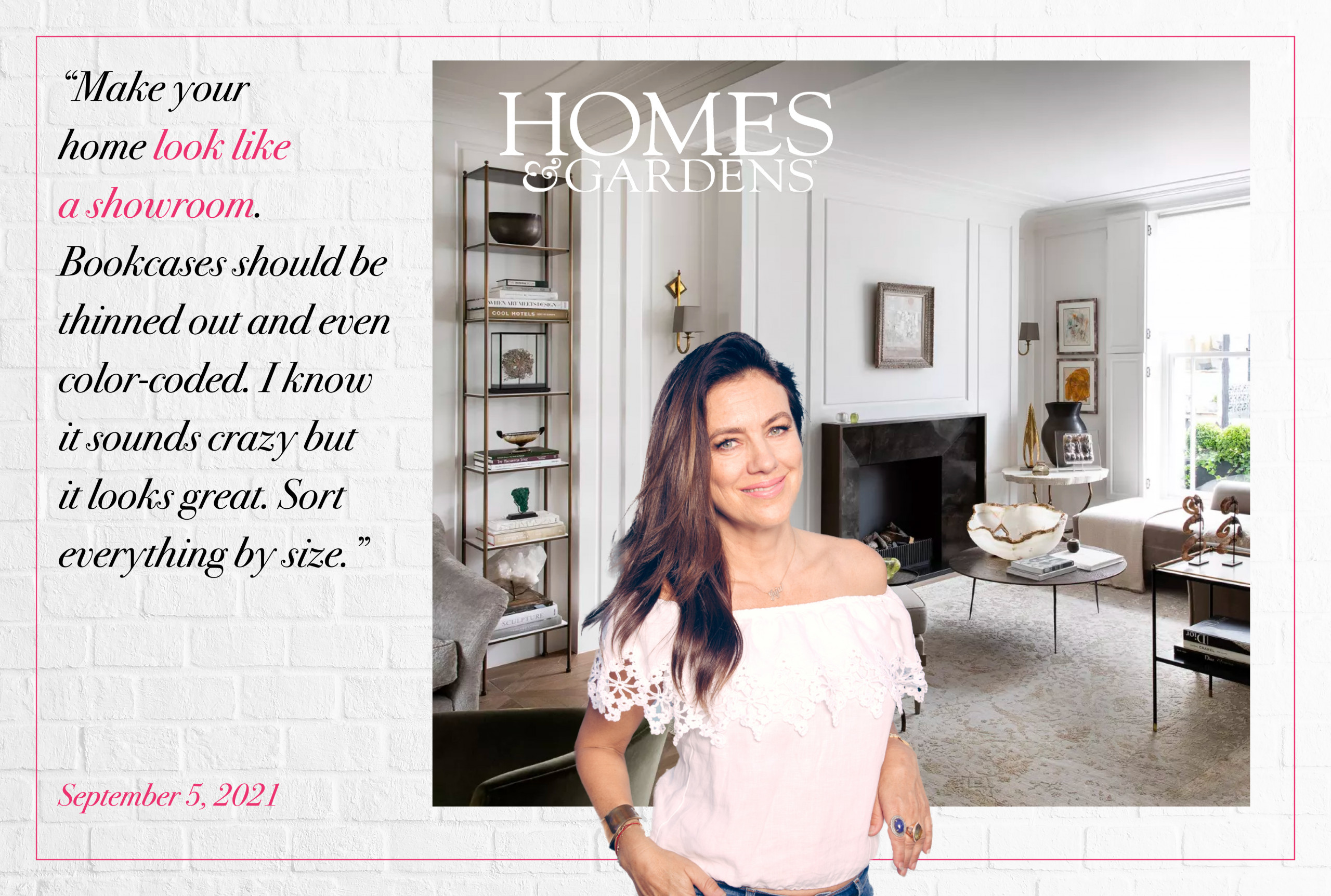 Homes & Gardens Feature Juliette Hohnen – The Secret to Staging a Living Room – For a Quick Sale