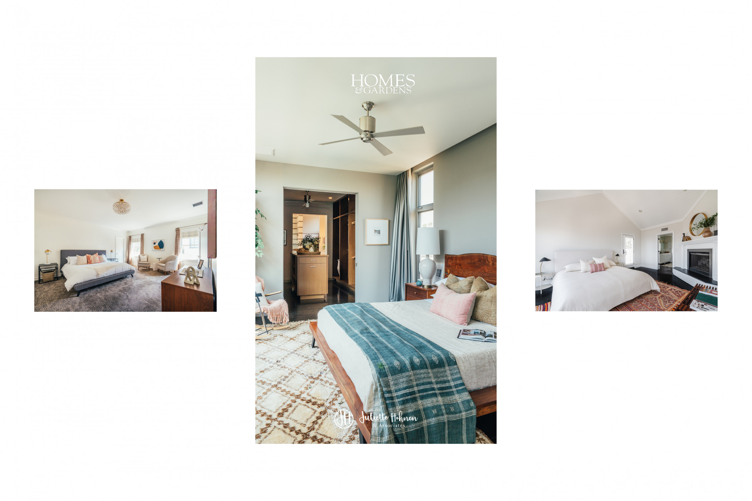 Homes & Gardens Feature Juliette Hohnen – The Secret to Staging a Bedroom – For a Quick Sale