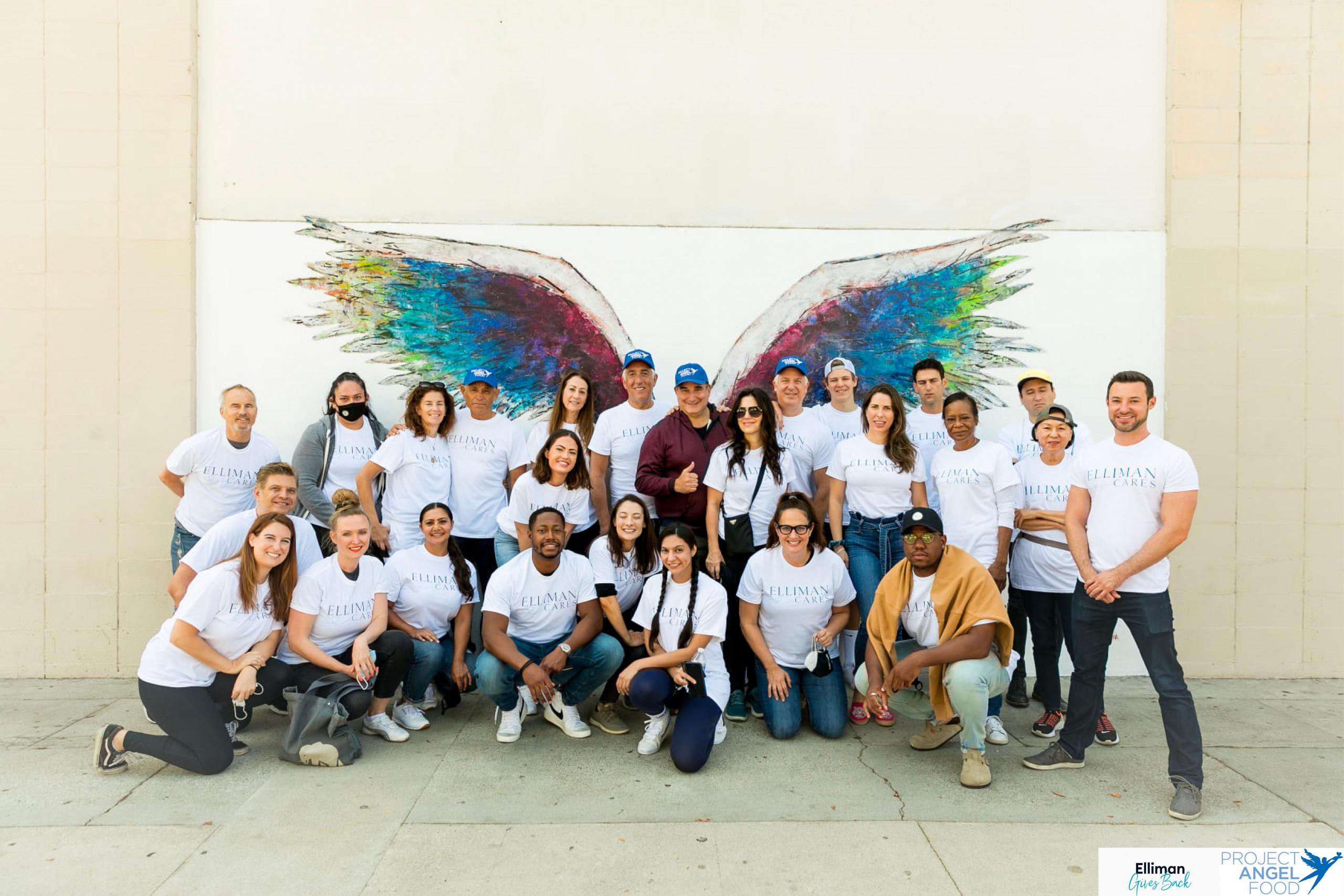 Douglas Elliman Gives Back – Project Angel Food 2021